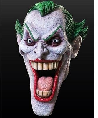 Maska lateksowa - Batman Joker Classic