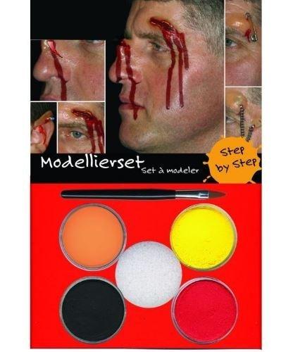 Zestaw do charakteryzacji scenicznej - Profesionall Make-up Set & Wax