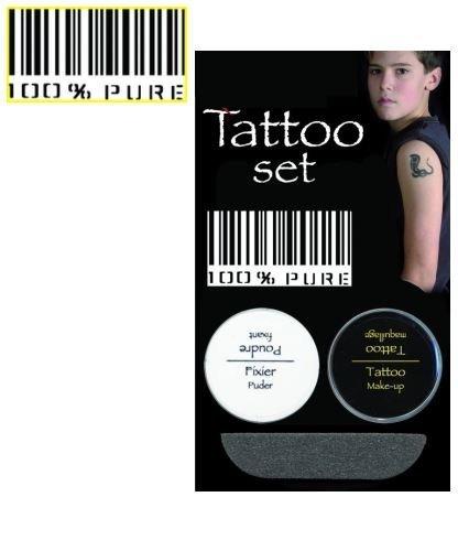 Tatuaż zmywalny - Barcode