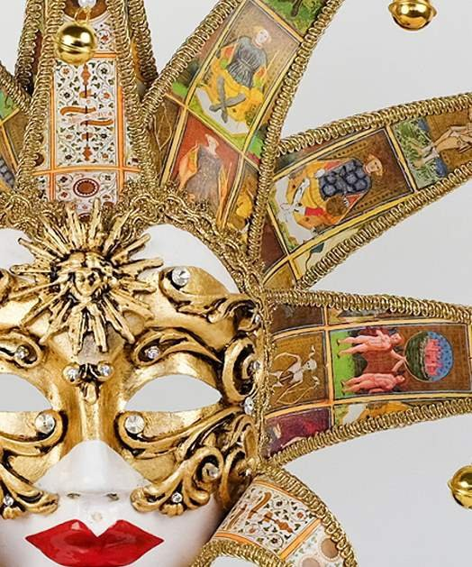 Maska wenecka - Volto Dama Reale Tarot