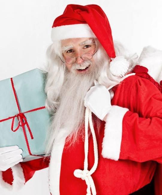 Pełny zarost - Święty Mikołaj Professional