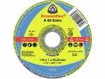 KLINGSPOR A 60 Extra tarcza do ciecia metalu 115x1x22