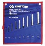 Wybijaki igłowe zestaw 2-14mm 9szt. KING TONY 1009PRN