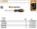 Beta 1202K/3X60 Wkrętak krzyżowy EASY 3x60mm blister