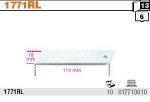 Beta 1771RL Ostrza 18 mm odłamywalne cena za 10 sztuk