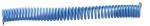 ADLER Wąż spiralny  pneumatyczny PU 6x4mm 5 m