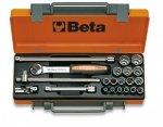 Beta 910B/C16Q Zestaw nasadek 3/8 z wyposażeniem 16szt