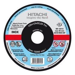 HITACHI Tarcza do cięcia metalu INOX A46T 115x1,6x22,2mm płaska - STANDARD