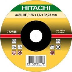 HITACHI Tarcza do cięcia metalu INOX 105x1,0x16,0mm płaska - PREMIUM