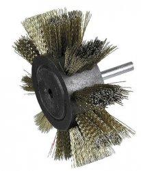 HITACHI Szczotka płatkowa, mosiężna 100x6x0,3mm