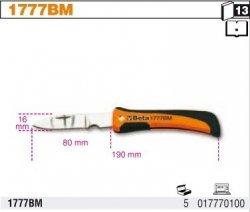 Beta 1777BM Nóż składany ostrze ze stali nierdzewnej