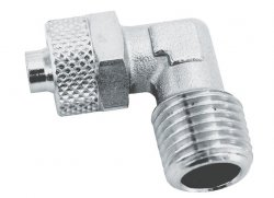 ADLER Złączka L zaciskowa 1/4z - 8x6mm