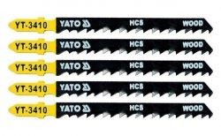 YATO Brzeszczot do WYRZYNARKI typ T 5szt YT-3410