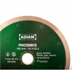 Adiam tarcza diamentowa PHOENIKS Ø180mm x 22,2mm