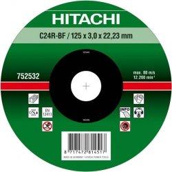 HITACHI Tarcza do cięcia kamienia 115x3x22,2mm płaska - PREMIUM
