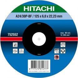 HITACHI Tarcza do szlifowania stali 180x6x22,2mm wypukła - PREMIUM