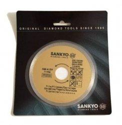 Tarcza diamentowa 110 mm do cięcia glazury ceramiki szkła terakoty SM-4.5Y ciągła 110 x 1,4 x 5 x 22.2mm
