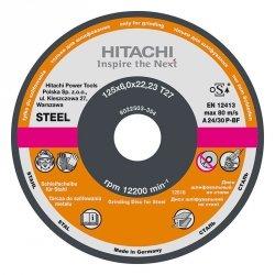 HITACHI Tarcza do szlifowania stali A24P 115x6,0x22,2mm - STANDARD