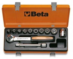 Beta 910A/C10 Zestaw nasadek 3/8 z wyposażeniem 10szt