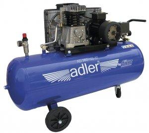 ADLER sprężarka dwucylindrowa 10bar 150L AD 360-150-3T