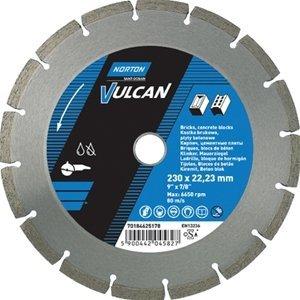 NORTON Tracza diamentowa beton 230x22,23mm VULCAN UNI