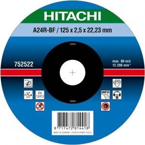 HIKOKI Tarcza do cięcia metalu stali 125x2,5x22,2mm wypukła - PREMIUM