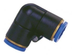 ADLER Łącznik kolanko AUTO pneumatyka  typ L 8mm
