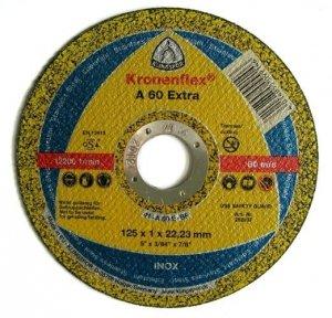 KLINGSPOR A 60 Extra tarcza do ciecia metalu 125x1x22