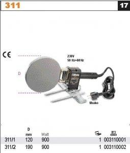 Beta 311/1 Zgrzewarka do rur z tworzyw sztucznych