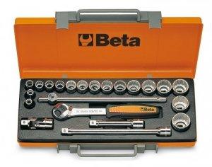 Beta 920AS/C17X Zestaw nasadek 1/2 z wyposażeniem 22szt