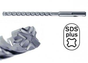 HIKOKI Wiertło udarowe 6x210mm SDS Plus 4-spiralne 4-ostrzowe