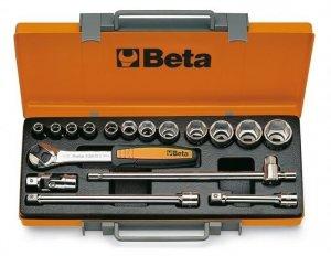 Beta 920B/C12X Zestaw nasadek 1/2 z wyposażeniem 17szt