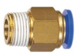 ADLER Końcówka AUTO pneumatyka 1/4z -8mm