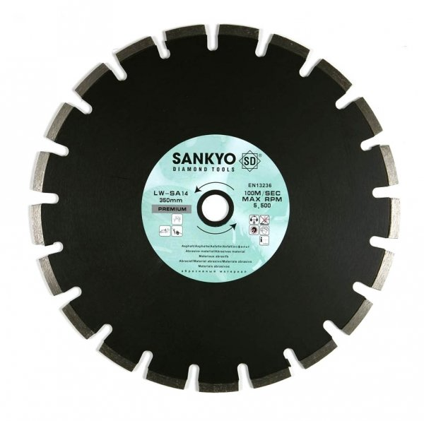 Tarcza diamentowa 115 mm do cięcia asfaltu silki chudego betonu LW-SA4.5 segment 115 x 2,3 x 10,0 x 22,2mm