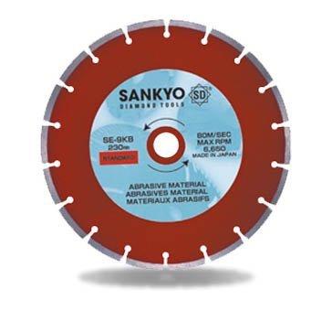 Tarcza diamentowa 230 mm do cięcia asfaltu silki chudego betonu SE-9KB segment 230 x 2,2 x 6 x 22.2mm