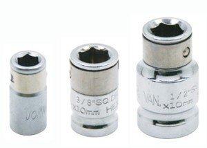 """JONNESWAY Adapter Uchwyt 3/8"""" do bitów 6-kątnych 10mm S44H3210"""