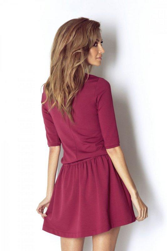 Sukienka Nathalie - bordo