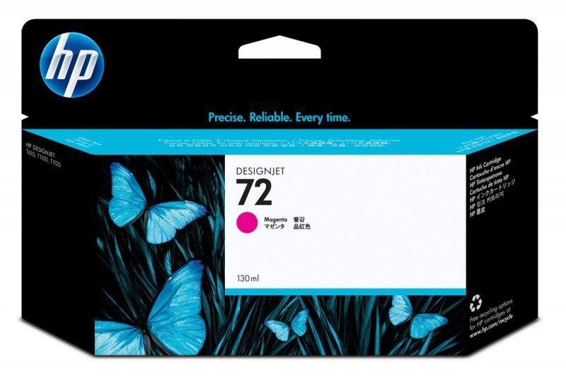HP Inc. Tusz Nr 72 Purpurowy (Magenta) Fotograficzny 130ml C9372A