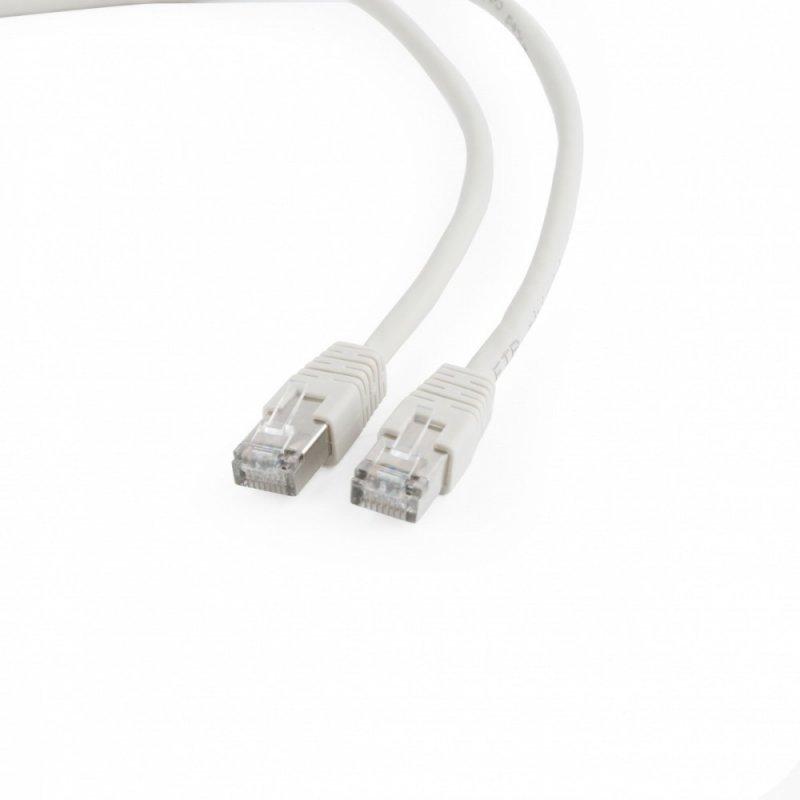 Gembird Patch cord ekranowany FTP kat.6 osłonka zal. 3M szary