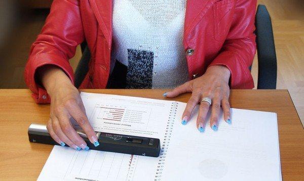 Media-Tech Skaner ręczny, kolorowy dokumentow A4 i mniejsz.