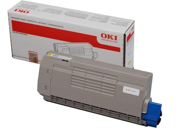 OKI Toner do C710 / C711 YELLOW (11.5k)           44318605