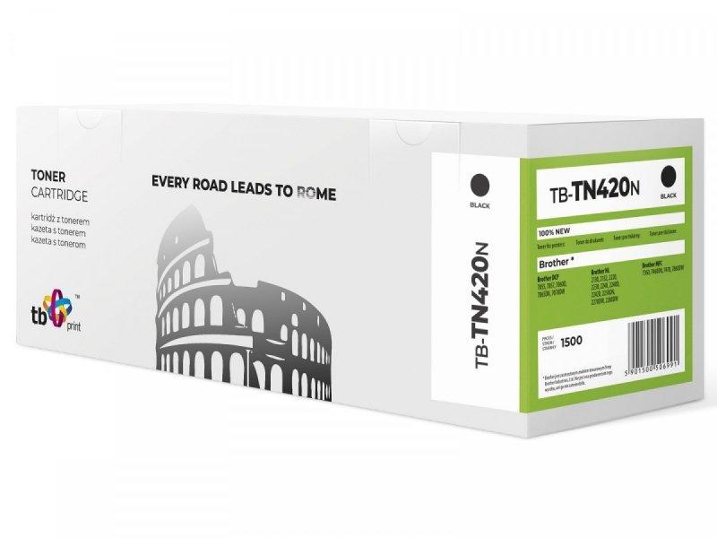 TB Print Toner do Brother TN420 TB-TN420N BK 100% nowy