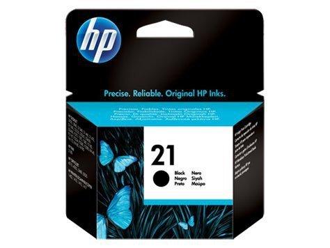 HP Inc. Tusz nr 21 Czarny C9351AE
