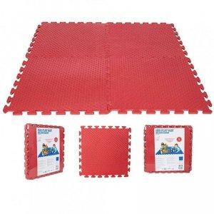 WOOPIE Piankowa Mata Edukacyjna Eva Czerwona 50 x 50