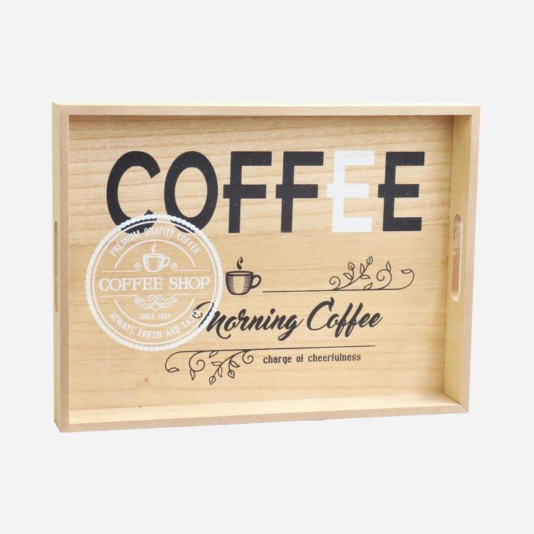 ZESTAW 2 TAC COFFEE TACE DREWNIANE