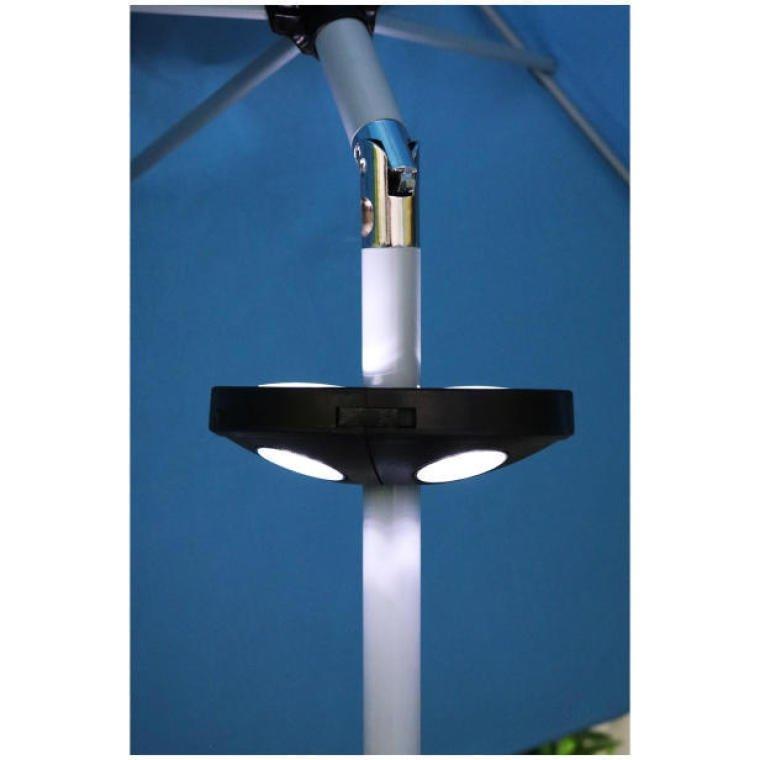 LAMPA LED OŚWIETLENIE POD PARASOL OGRODOWY NA BATERIE