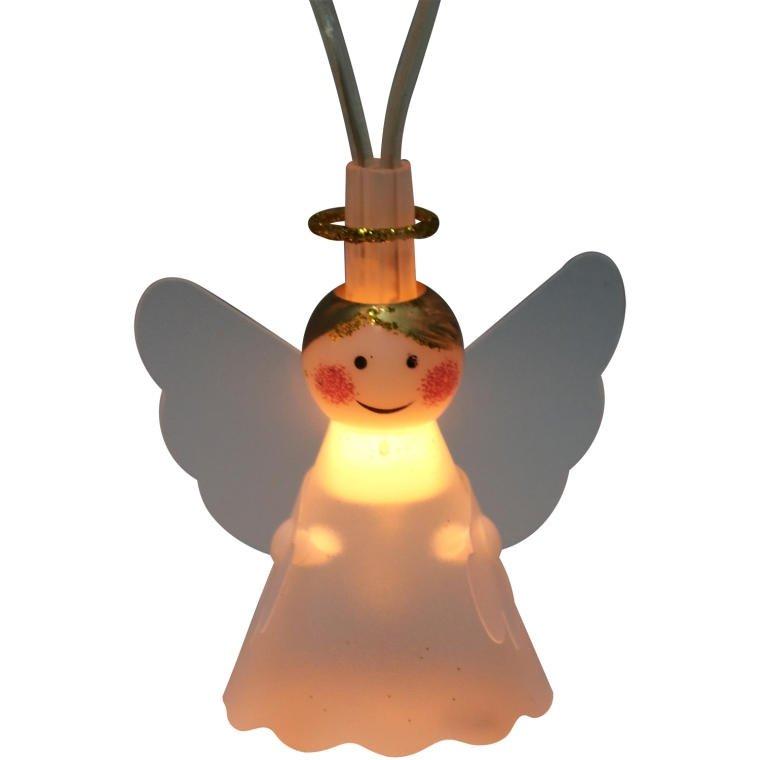 LAMPKI 10 SZT ANIOŁ OŚWIETLENIE ŚWIĄTECZNE