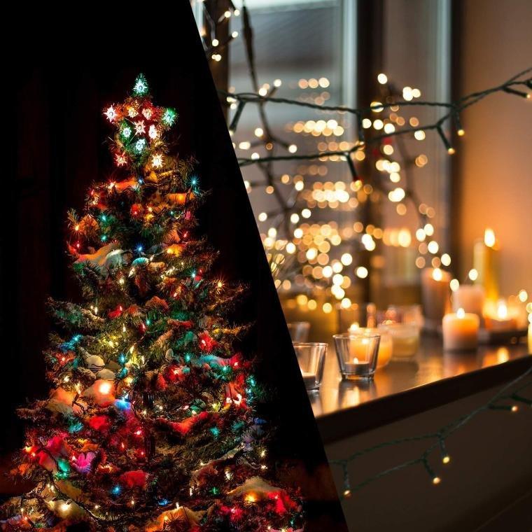LAMPKI 1000 LED MULTIKOLOR Z PROGRAMATOREM OŚWIETLENIE ŚWIĄTECZNE