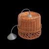 Żyrandol (Ażur/32cm) - sklep z wiklina - zdjęcie