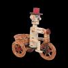Osłonka na doniczkę - dekoracja (Chłopek/Duży) - sklep z wiklina - zdjęcie 1